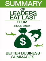Leaders Eat Last | Summary