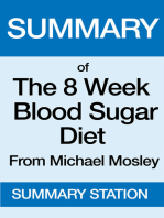 The 8 Week Blood Sugar Diet | Summary