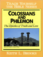Colossians & Philemon- Teach Yourself the Bible Series