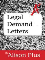 Legal Demand Letters