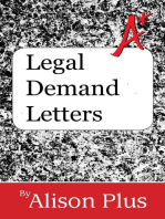 Legal Demand Letters