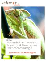 Maskenball im Tierreich