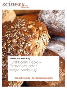 Functional Food: Fitmacher oder Mogelpackung?