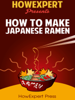 How To Make Japanese Ramen