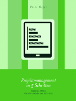 Projektmanagement in 5 Schritten
