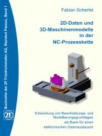 2D-Daten und 3D-Maschinenmodelle in der NC-Prozesskette