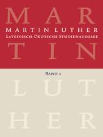 Lateinisch-Deutsche Studienausgabe / Lateinisch-Deutsche Studienausgabe