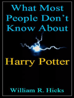What Most People Don't Know About Harry Potter