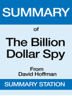 The Billion Dollar Spy | Summary