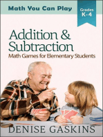 Addition & Subtraction: Math You Can Play, #2