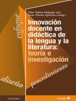 Innovación docente en didáctica de la lengua y la literatura