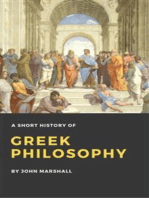 A Short History of Greek Philosophy (Illustrated)