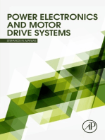 Power Electronics and Motor Drive Systems
