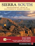 Sierra South: Backcountry Trips in California's Sierra Nevada