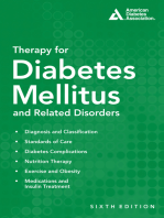 Therapy for Diabetes Mellitus and Related Disorders