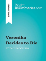 Veronika Decides to Die by Paulo Coelho (Book Analysis)