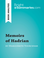 Memoirs of Hadrian by Marguerite Yourcenar (Book Analysis)