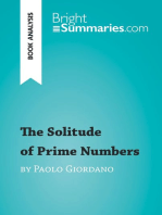 The Solitude of Prime Numbers by Paolo Giordano (Book Analysis): Detailed Summary, Analysis and Reading Guide
