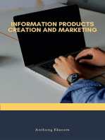 Information Products Creation and Marketing