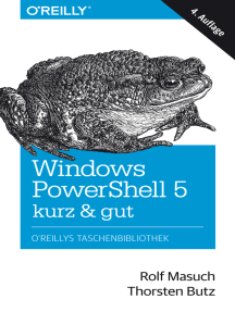 Windows PowerShell 5 – kurz & gut