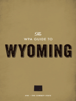 The WPA Guide to Wyoming