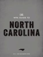 The WPA Guide to North Carolina
