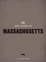 The WPA Guide to Massachusetts