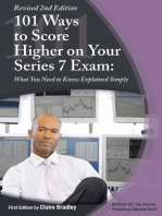 101 Ways to Score Higher on Your Series 7 Exam
