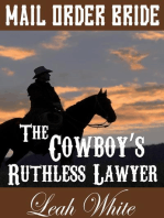 The Cowboy's Ruthless Lawyer (Mail Order Bride)