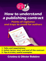 How to understand a publishing contract