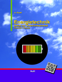 Energietechnik: Skript zur Unterrichtseinheit