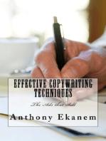 Effective Copywriting Techniques