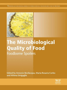 The Microbiological Quality of Food: Foodborne Spoilers