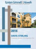 2017 Davis-Stirling Common Interest Development
