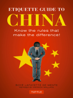 Etiquette Guide to China