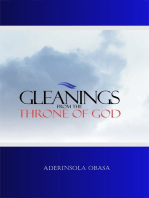 Gleanings From The Throne of God
