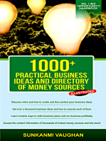 1000+ Practical Business Ideas and Directory of Money Sources