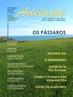 Adelaide Literary Magazine No.3, Summer 2016
