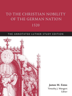 To the Christian Nobility of the German Nation, 1520