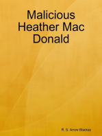 Malicious Heather Mac Donald