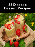 33 Diabetic Dessert Recipes