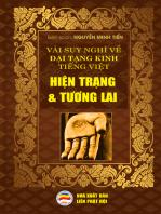 Vài suy nghĩ về Đại Tạng Kinh Tiếng Việt -Hiện trạng và tương lai