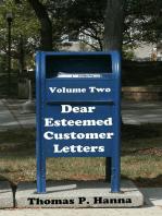 Dear Esteemed Customer Letters, Volume Two