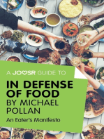 A Joosr Guide to... In Defense of Food by Michael Pollan
