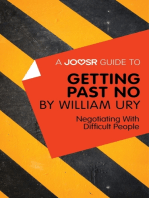 A Joosr Guide to... Getting Past No by William Ury
