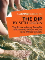 A Joosr Guide to... The Dip by Seth Godin