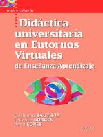 Didáctica universitaria en Entornos Virtuales de Enseñanza-Aprendizaje