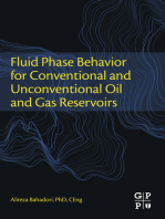 Fluid Phase Behavior for Conventional and Unconventional Oil and Gas Reservoirs