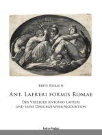 Ant. Lafreri Formis Romae