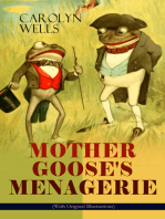 MOTHER GOOSE'S MENAGERIE (With Original Illustrations)